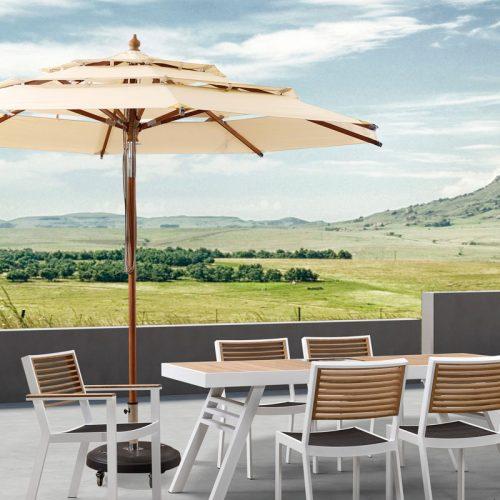 Tienda de muebles para exterior en m rida exteria for Muebles para patios exteriores