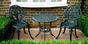 muebles para exterior de aluminio desayunador sillas mesa