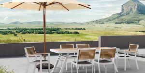 6 Materiales cómodos y resistentes en muebles para exterior - Exteria
