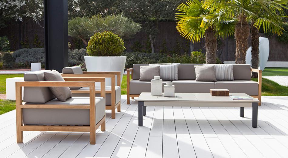 Por qué todos aman los muebles de teca para jardín? - Exteria