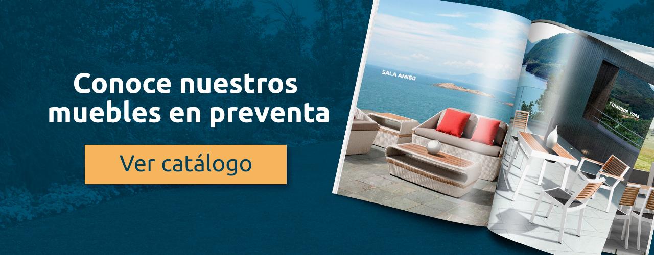 Muebles para exterior en México - Exteria